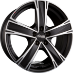 ADVANTI RACING RACCOON (ADV14) Einteilig BLACK - Schwarz Matt Poliert 10.00 x 21 ET 40.00 5x120.00