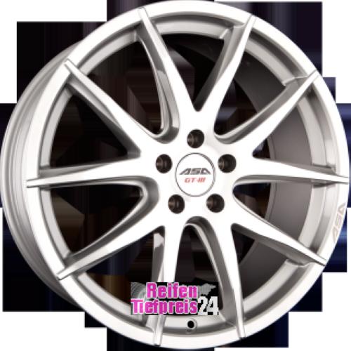 ASA GT3 Einteilig Silber Frontpoliert (SMF)