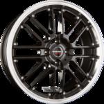 BORBET CW2 Black Rim Polished  Einteilig 8.00x17ET35.005x112.00