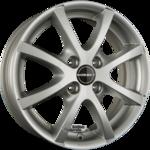 BORBET LV4 Einteilig Crystal Silver 5.50x14ET43.004x108.00