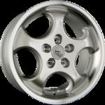 BROCK / RC B2 Silber Horn Poliert Einteilig 8.50x17ET35.005x100.00