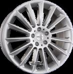 CARMANI CA 17 FRITZ Einteilig White Silver (WS) 8.00x19ET37.005x112.00