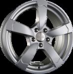 DBV TORINO II Metallic Silber Einteilig 6.50x15ET35.004x100.00