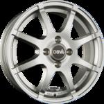 DBV BALI II Einteilig Silber Metallic 5.00x15ET38.004x100.00