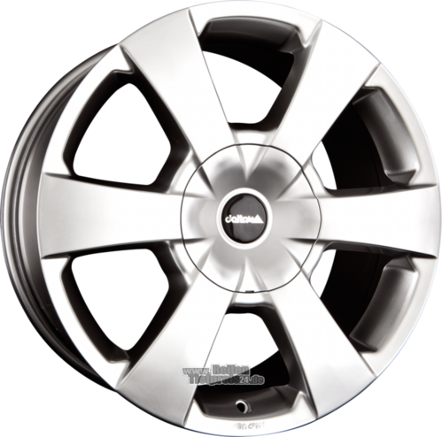 DELTA 4x4 WP Einteilig Shiny Silver