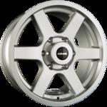 DELTA 4x4 AVVENTURA Einteilig Silver Matt 8.50x17ET30.005x127.00