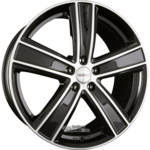 DEZENT TH Einteilig DARK - Black Polished 8.50x19ET50.005x130.00