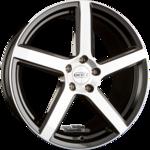DOTZ CP5 Einteilig DARK - Black Polished 9.50x20ET40.005x112.00