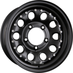 DOTZ MODULAR BEADLOCK Einteilig Black - Offroad Stahlfelge 5.50x15ET5.005x139.70