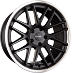 EMOTION-WHEELS CONCAVE Black Matt Inox Einteilig 8.50 x 19 ET 35.00 5x112.00