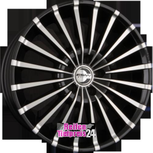 FSW PRIMO 01 Einteilig Schwarz-Silber Poliert