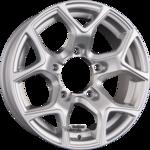 GMP Italia SJ15 Einteilig Silver 5.50x15ET5.005x139.70