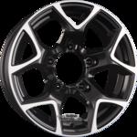 GMP Italia SJ15 Einteilig Black Diamond 5.50x15ET5.005x139.70