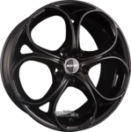 GMP Italia DRAKE Einteilig Glossy Black  8.00x19ET33.005x110.00