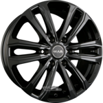 MAK SAFARI 6 Gloss Black Einteilig 8.00 x 18 ET 45.00 6 x 114.30