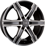 MAK KING 6 Ice Black Einteilig 8.00 x 18 ET 45.00 6 x 114.30