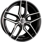 MEISTERWERK WHEELS MW02 Einteilig Black Polished (BKF) 10.50 x 21 ET 35.00 5x120.00