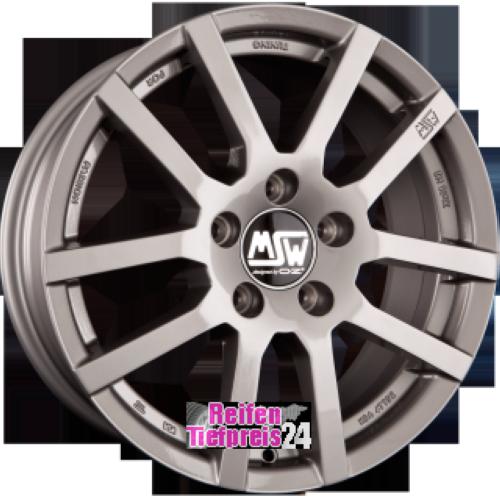 MSW MSW 22 Einteilig Grey Silver