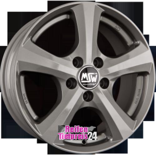 MSW MSW 19 Grey Silver Einteilig