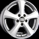 MSW MSW 19 Einteilig Full Silver 6.50x16ET36.005x127.00