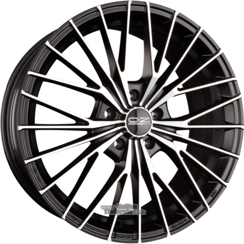 OZ EGO Einteilig Matt Black Diamond Cut