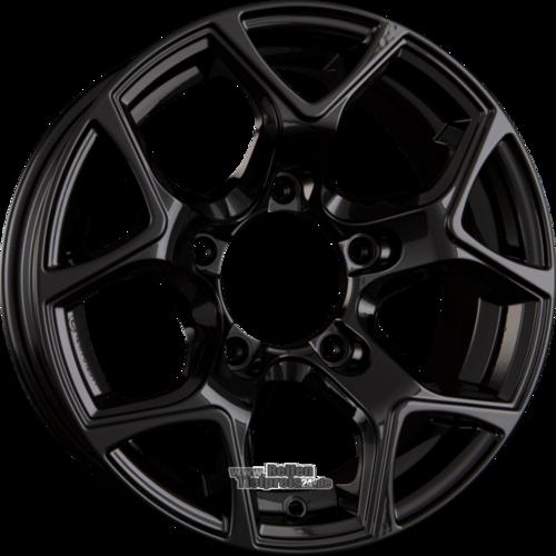 PLATIN P 96 Einteilig Black Glossy 5.50x15ET5.005x139.70