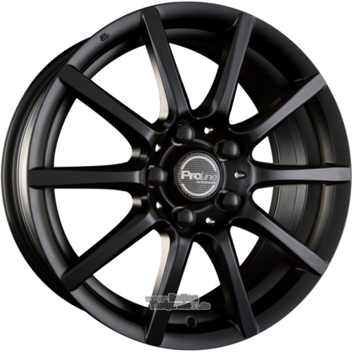 ProLine Wheels  CX100 Einteilig Black Matt (BM)