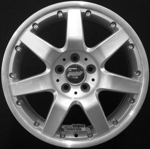 ProLine Wheels  PJ Einteilig Silber
