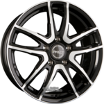 ProLine Wheels  PXV Black Polished Einteilig 7.00x17ET38.005x98.00