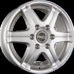ProLine Wheels  PV/T Einteilig Arctic Silver (AS) 6.50x16ET60.005x130.00