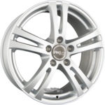 ProLine Wheels  BX700 Einteilig Arctic Silver (AS) 8.00 x 18 ET 35.00 5x127.00