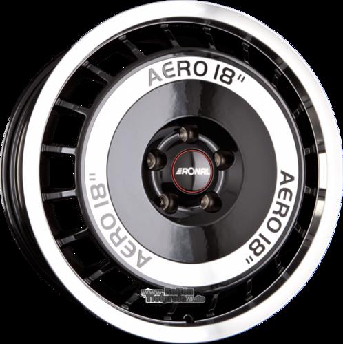 RONAL R50 AERO Einteilig Schwarz Frontkopiert