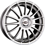 TEAM DYNAMICS MONZA R High-Power-Silver Einteilig 7.00 x 17 ET 38.00 5 x 100.00