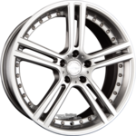 TEAM DYNAMICS LE MANS Einteilig High-Power-Silver 8.50x19ET35.005x100.00
