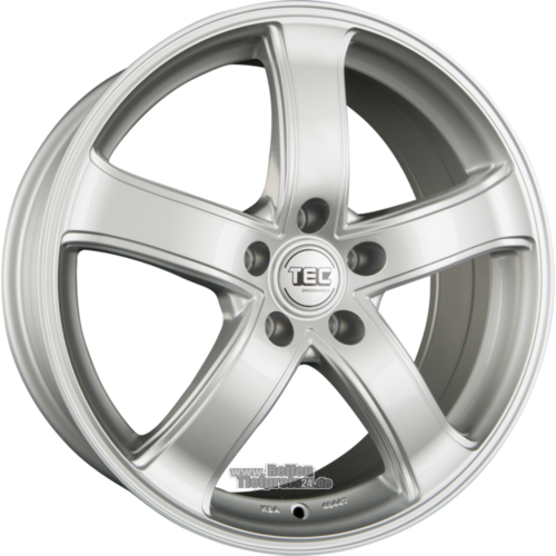 TEC SPEEDWHEELS AS1 Einteilig Sterling Silver (CS)