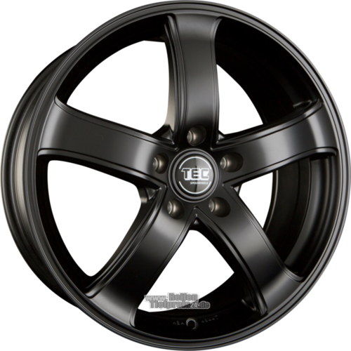TEC SPEEDWHEELS AS1 Einteilig Schwarz Seidenmatt (MB)