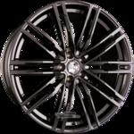 Ultra Wheels UA12 Einteilig Black Painted 9.50x20ET50.005x130.00